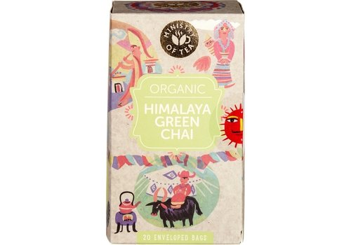 Ministry of Tea Himalaya Green Chai Biologisch