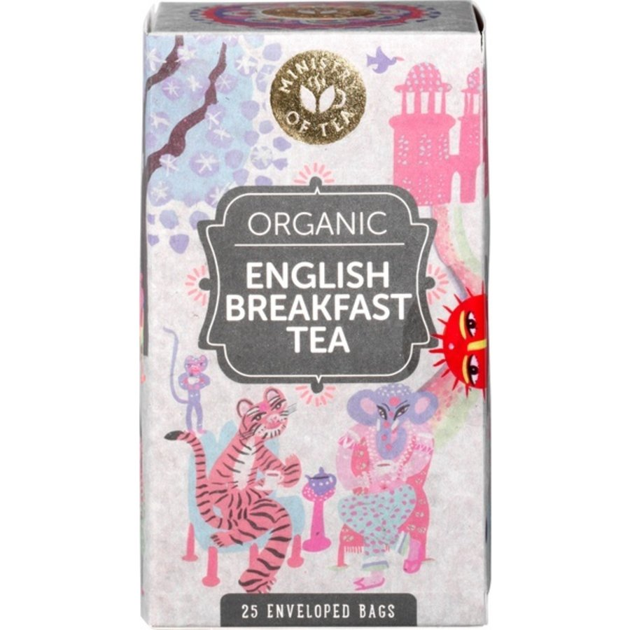 English Breakfast Thee Biologisch
