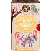 Turmeric, Liquorice & Ginger Tea Biologisch