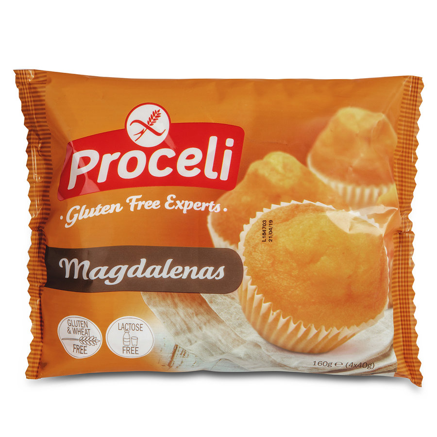 Magdalenas 4 stuks