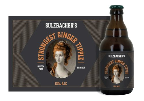 Sulzbacher's Strongest Ginger Tipple 13% 33cl