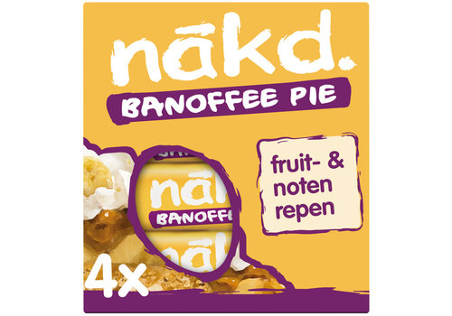 Nakd Banoffee Pie Bar 4-pack