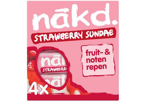 Nakd Strawberry Sundae Bar 4-pack