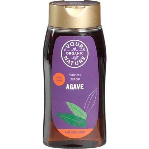 Your Organic Nature Agavesiroop Donker Biologisch