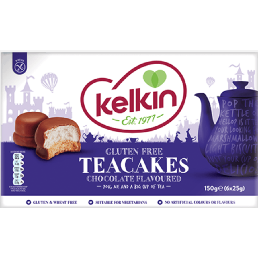 Marshmallow Teacakes
