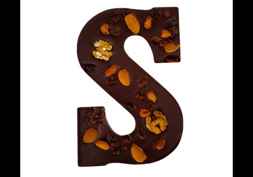 Happy Chocolate Luxe Chocoletter Puur met Noten Biologisch