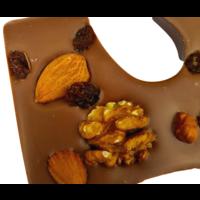 Luxe Chocoletter Melk met Noten Biologisch