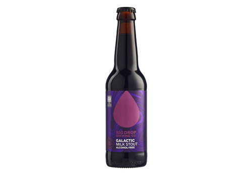 Big Drop Brewing Co. Galactic Milk Stout Alcoholvrij 0,5%