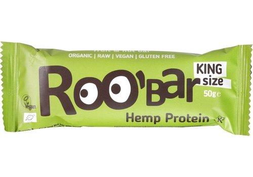 Roobar Hemp Protein Bar Doos 16 Stuks Biologisch
