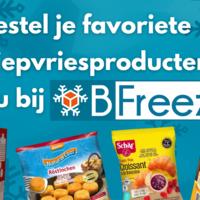 BFreez.nl: een nieuwe manier om je diepvriesartikelen te bestellen!