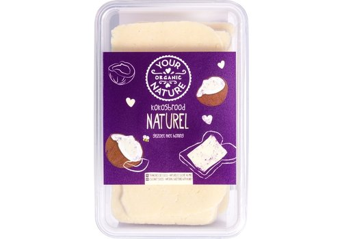 Your Organic Nature Kokosbrood Naturel Biologisch