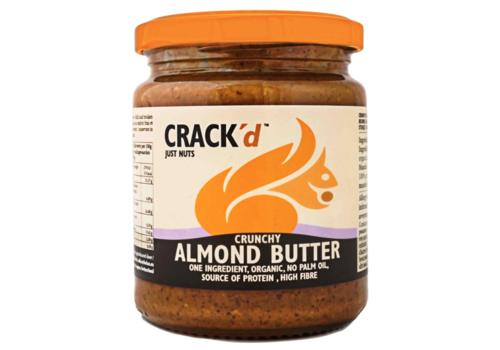 Crack'd Crunchy Amandelpasta Biologisch