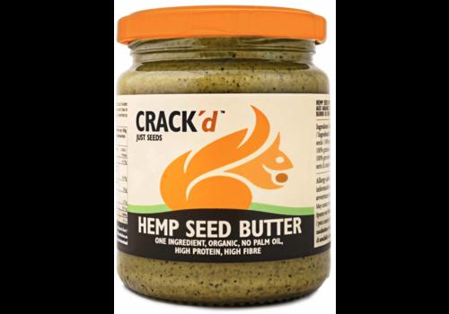 Crack'd Hennepzaadpasta Biologisch