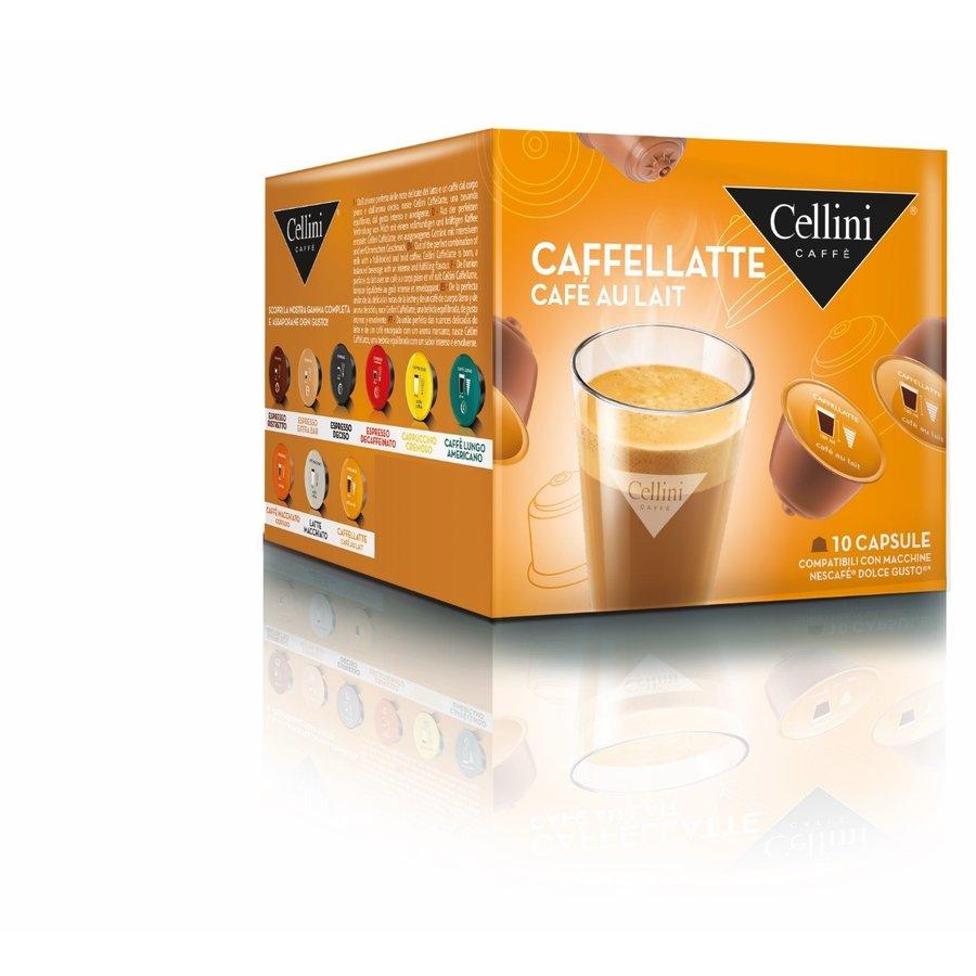 Caffelatte 10 capsules