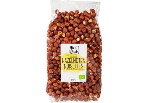 Nice&Nuts Hazelnoten Biologisch 1kg
