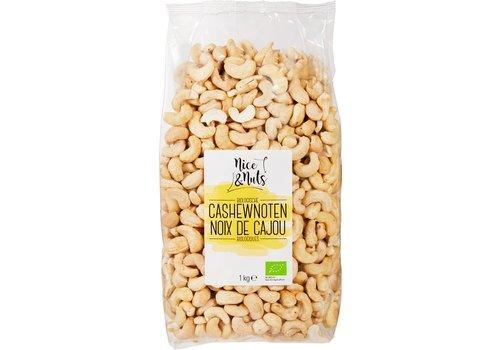 Nice&Nuts Cashewnoten Biologisch 1kg