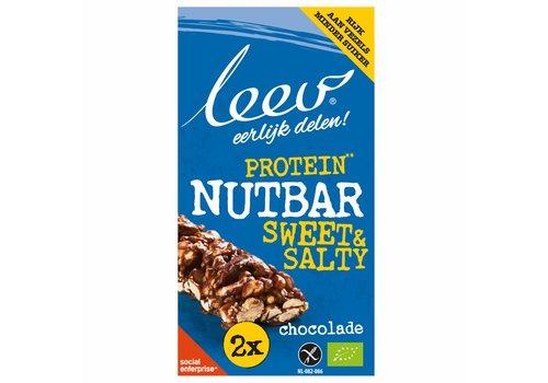 Leev Protein Nut Bar Chocolade Biologisch
