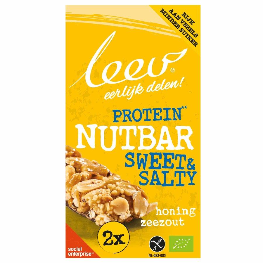 Protein Nut Bar Honing Zeezout Biologisch