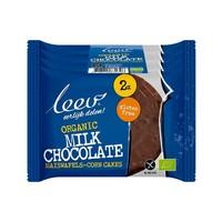 Maïswafels Melkchocolade Biologisch