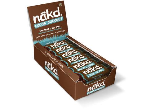 Nakd Cocoa Coconut bar doos 18 stuks