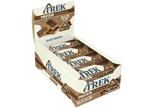 Trek Protein Flapjack Cocoa Oat doos 16 stuks