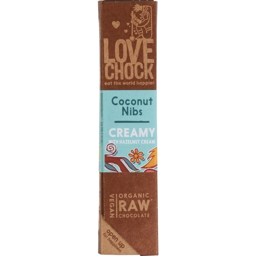 RAW Chocolade Kokos Nibs Biologisch