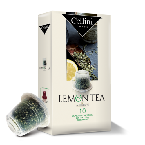 Cellini Lemon Tea  10 capsules