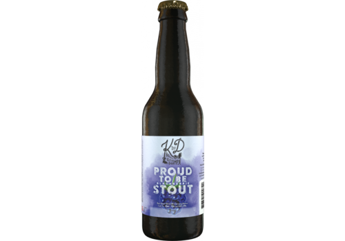Brouwerij Klein Duimpje Proud to be Stout 11% 33cl