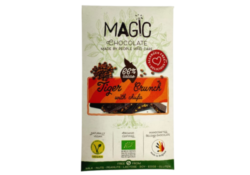 Magic Chocolate Tiger Crunch Chocolade met Chufa Biologisch
