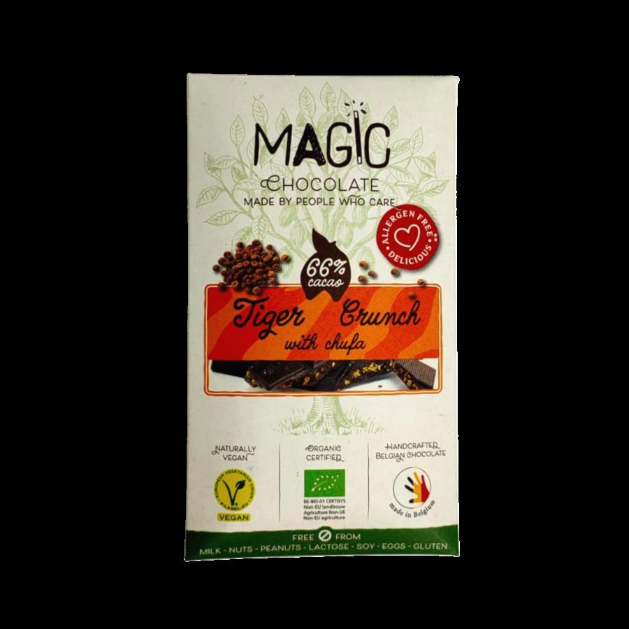Tiger Crunch Chocolade met Chufa Biologisch