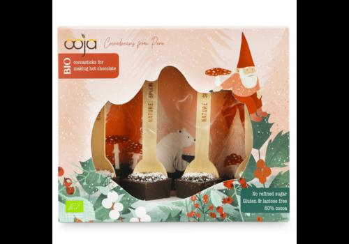 Ooja Cadeaubox Fairy Forest Chocosticks 60% Cacao Biologisch