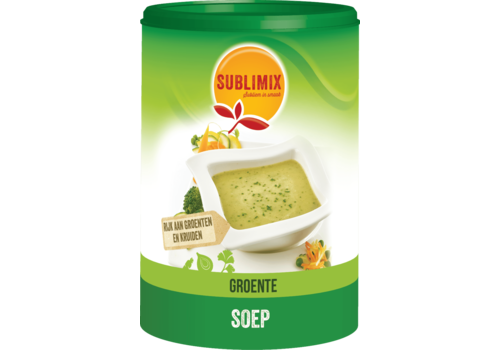 Sublimix Groentesoep 480 gram