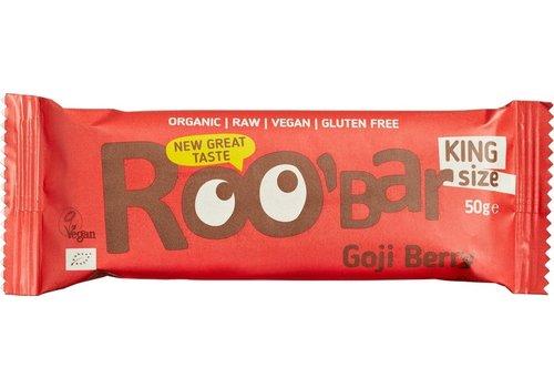 Roobar Goji Berry Bar Doos 16 Stuks Biologisch