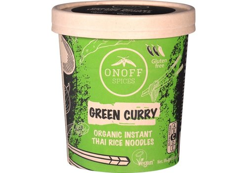 Onoff Spices Instant Noodles Green Curry Biologisch