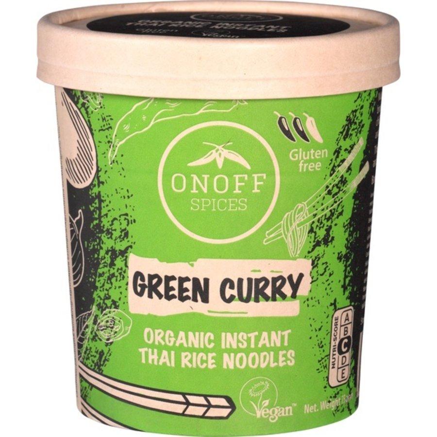 Instant Noodles Green Curry Biologisch