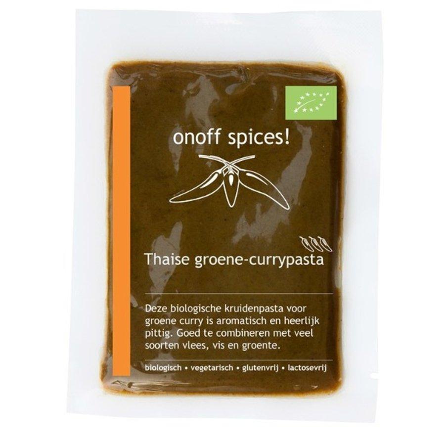 Thaise Groene Currypasta Biologisch