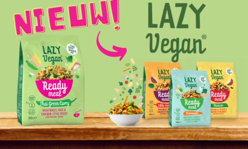 Nieuw! Ready Meals van Lazy Vegan (BFreez)