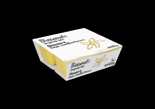 Provamel Soja Dessert Vanille 4-Pack Biologisch