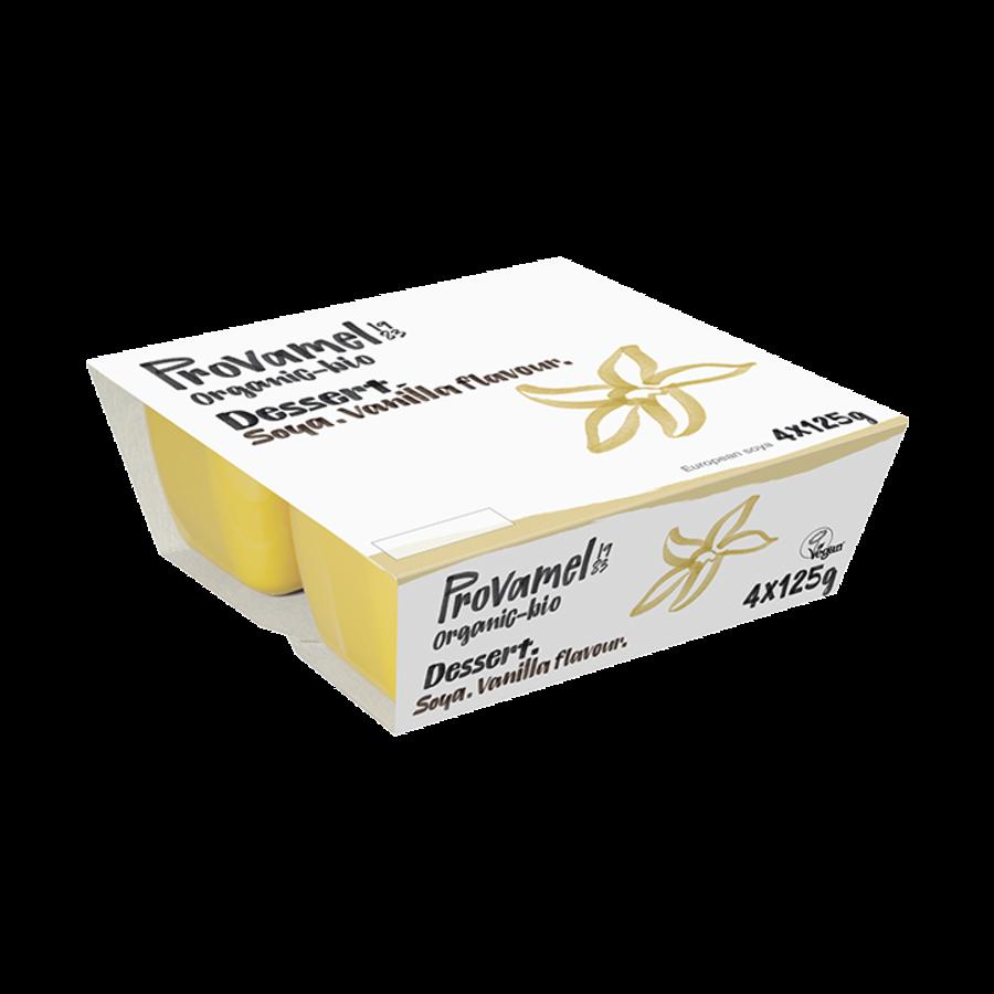 Soja Dessert Vanille 4-Pack Biologisch