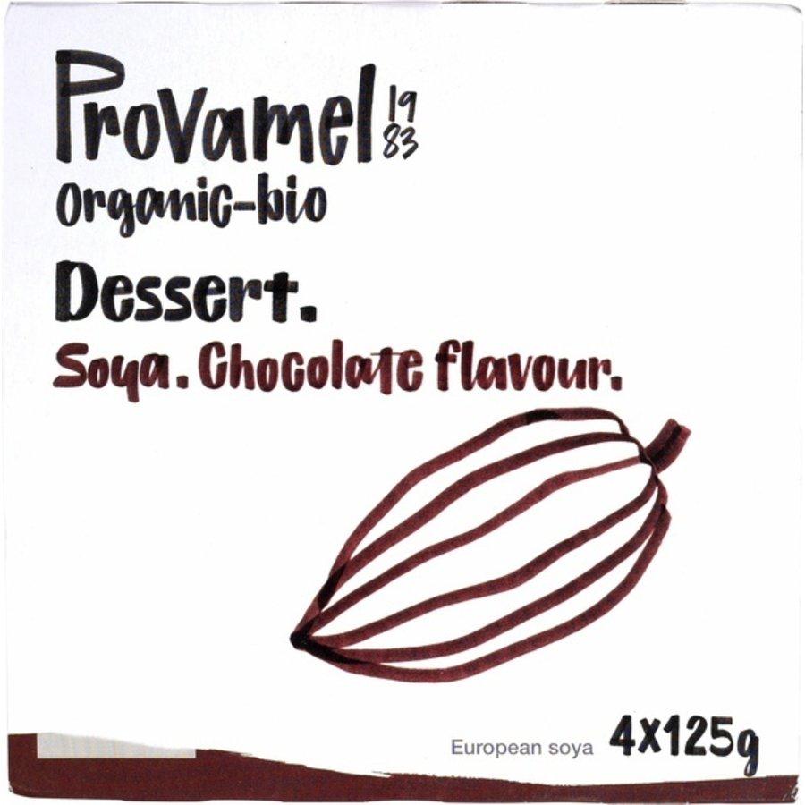 Soja Dessert Choco 4-Pack Biologisch