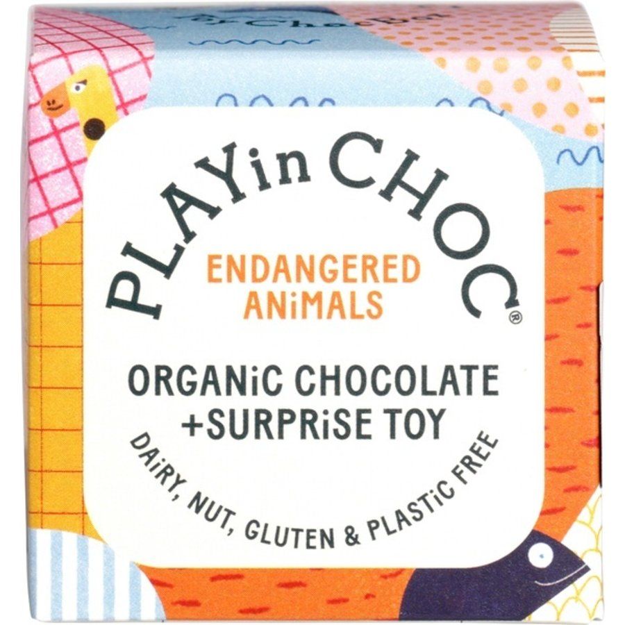 Choco Surprise Bedreigde Diersoorten Biologisch