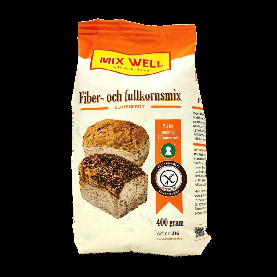 Mix voor Volkorenbrood Vezelrijk