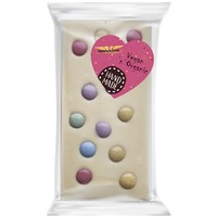 Witte Chocoladereep Confetti