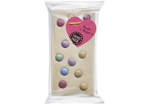 Bonvita Witte Chocoladereep Confetti