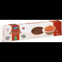Rode Linzen Pasta Spaghetti