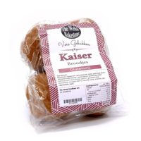 Kaiser Broodjes 4 stuks