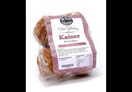 The Welsh Bakestone Kaiser Broodjes 4 stuks