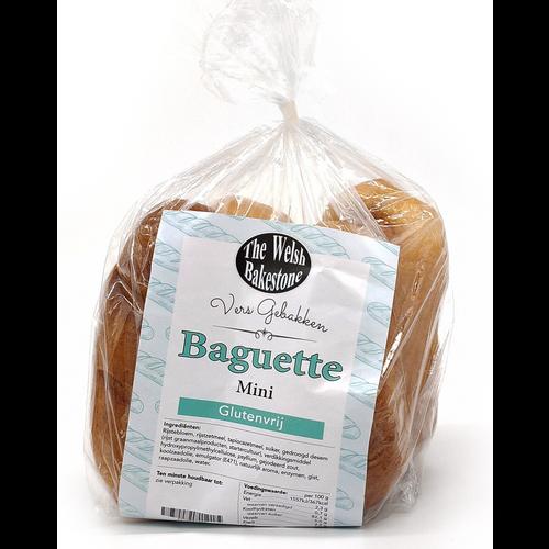 The Welsh Bakestone Baguette Mini 4 stuks
