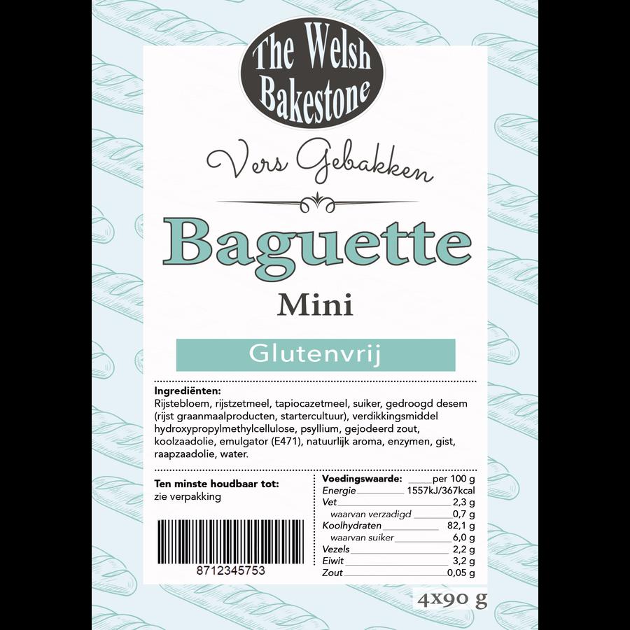 Baguette Mini 4 stuks