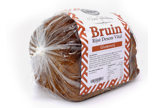 The Welsh Bakestone Bruin Rijst Desembrood Vital